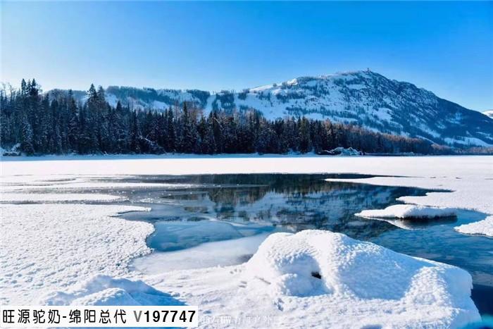 新疆阿勒泰美景----冬日里的禾木村